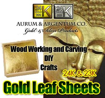 gold foil for sculpures
