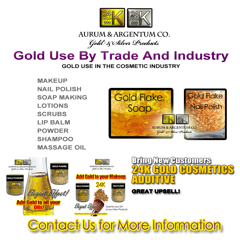 GOLD USE IN THE COSMETIC INDUSTRY copy